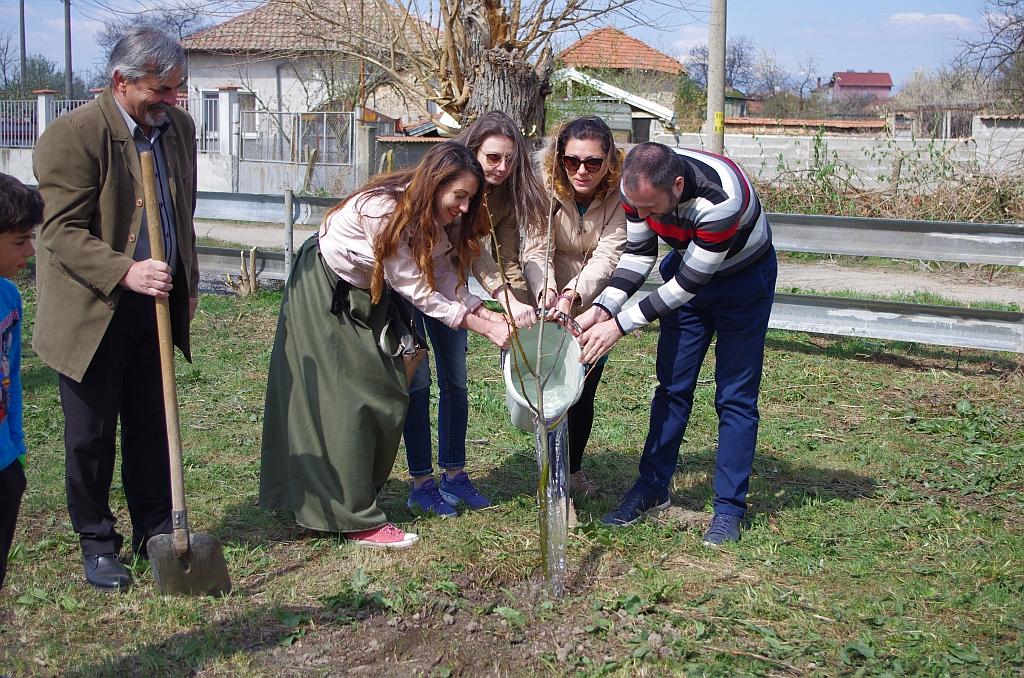 Каузи в името на бъдещето в училището в Овощник